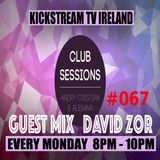 Andry Cristian & Alesana - Club Sessions 067 - Guest Mix DAVID ZOR - Live @KickStream TV
