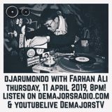 Fallin in love and Heartbreak LIVE ON DJARUMONDO April 11, 2019 www.demajorsradio.com