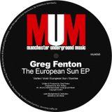 Greg Fenton September Mix