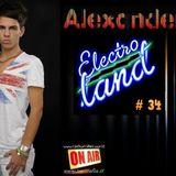"""ALEXANDER Pres. """"ELECTRO LAND"""" VOL.34 Soon out un Radio RMC"""