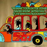 """REGGAE TOUR EKTOS ZONIS RADIO SHOW"" 16/ ΜΑΥ /2013 RODON95FM T.J.R .Selections"