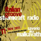 Italiansgroove at StromkraftRadio with Malkavath [Wunderkammer Rec]