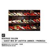 Beatrice Dillon & Laetitia - 7th November 2016