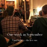 One week in September