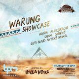 Patrice Baumel @ Warung Showcase, Nosoloágua Beach Club - 14 September 2017