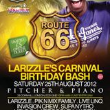 ROUTE 66: LARIZZLE'S BIRTHDAY BASH PROMO MIX [Hip Hop/Bashment/Afrobeats/House]