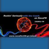 NovaOnAir-Rockin' Seriously with thw Coach - 060219
