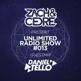 Unlimited Radio Show #013 [Guestmix by Daniel Tello]