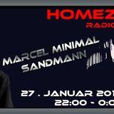 Sandmann & Marcel Minimal @ Homezone 27.01.2018 > Radio Corax
