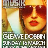Musik @ Thompsons St. Patrick's Eve Special feat Gleave Dobbin (16-3-14)