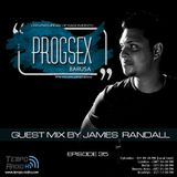 PROGSEX #35 - Guest mix by James Randall on Tempo Radio Mexico [ 18.08.2018 ]