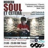HOUR 2, 13/8/2019, Modern Soul Et Cetera on Starpoint Radio