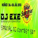 DJ EXE - FREE SUMMER DJ CONTEST 2013