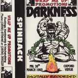 DJ Spinback - Darkness The Myth Revealed 26th March 1993