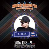 DJ Benz Live Rec @ Music Circus, Osaka, Japan 9th Oct 2016