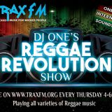 DJ One's Reggae Revolution Show On Trax FM! - 4th February 2016