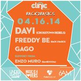 Enzo Muro (Electronic Groove) - Live at Clinic Wednesdays - 30-Mar-2016