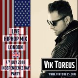 Live Hiphop Set @ 4th July Independence Day Party, London