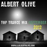 Albert Olive - Top Trance Mix September 2012