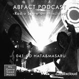 Abfact Podcast 041:CD HATA & MASARU