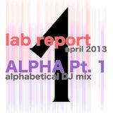 Lab Report April 2013 part 1