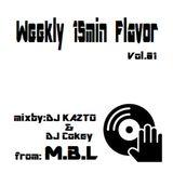 Weekly 15min Flavor Vol.01