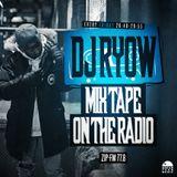 DJ RYOW - TOKONA-X R.I.P. MIX on ZIP-FM / 11.17.2017