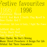 Festive faves 1995 to 1996