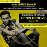 Emission de BLACK VOICES spéciale BENIN GROOVE 70 session invitation  de Greg SHAKTI  HDR ROUEN