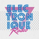 "ELECTRONIQUE RADIO #19 [15/1/18] 12"" 80s hosted by Mark Dynamix & Jade To Grey 