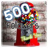 500 Followers  T H A N K   Y O U  Mix! DJ Dynablend