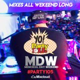 Johnny Seriuss - Party 105.3 MDW Mix (5 26 2018) (CLEAN)