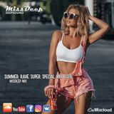 MissDeep - Summer RAVE Super Special Mix - Deep House Sessions Music Nu Disco 25-08-18 - By MissDeep