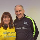 Catherine Lavery meets Mickey Harte and Anna Geary