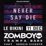 Combine - NEVER SAY DIE Night @Bikini Tribute