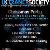 UKTS Christmas Party 2015 // Enix