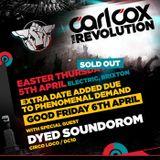 Carl Cox Live @ The Revolution,Electric Brixton (UK) (05.04.12) 3hr