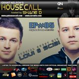 Housecall EP#85 (21/03/13) incl. a guest mix from Loui & Scibi
