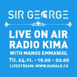 SIR GEORGE GUEST DJ AT RADIO KIMA - 24.11.2015