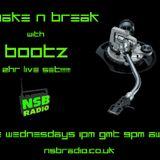 "23/10/2013 ""Shake n Break"" with BootZ live on nsbradio.co.uk"