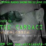 Daztronik radio show with special guest Tee Cardaci