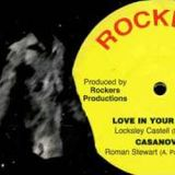"""Lacksley Castell 12"""" Discos - """"Jah Fire"""" & """"King Of Israel"""""""