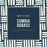 SKNT  presents CUMBIADUBASS live rec dj set at FRIGAGLIA'S PALACE vol 10