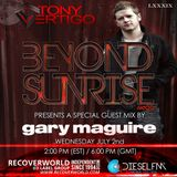 Beyond Sunrise radio…LXXXIX with Gary Maguire