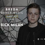 BDM Guestmix 003 by Rick Milan