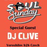 DJ CLIVE – Soul Sunday with 14.04.2013(Live)
