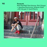 102 - Fresh Rap/RnB Vibes: new Tate Kobang, Rich Chigga & Jace + Japanese Electronica, Angolan Vibes