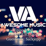 Awesome Music 08 (Guest mix Sackjepp)