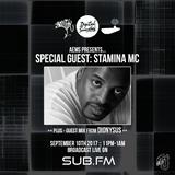 Aems ft. Stamina MC & Dionysus - SubFM - Show 011 - 10_09_2017
