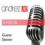 Andrez LIVE! S10E09 02.11.2016 (Guest Mix & Interview: Steven)